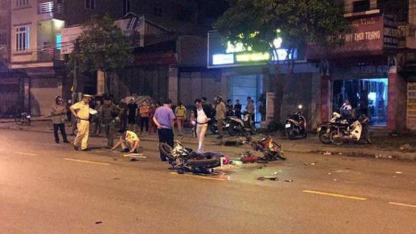 Bắc Ninh: Hai xe máy đấu đầu, một thanh niên tử vong tại chỗ