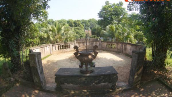 Hé lộ chuyện kỳ lạ ít biết ở lăng mộ Sĩ Nhiếp tại Bắc Ninh