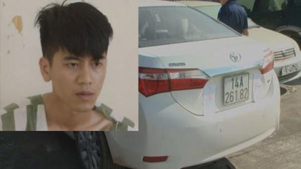 Quảng Ninh: HOT BOY dùng giấy tờ giả 'cắm' xe Toyota lấy 600 triệu đồng