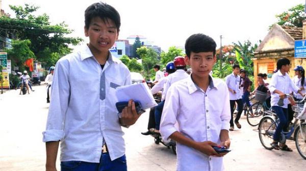 ĐIỂM CHUẨN  lớp 10 các trường tại Bắc Ninh
