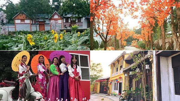 Chẳng phải đi xa, ngay gần Bắc Ninh có một ngôi làng cổ Hàn Quốc và phố cổ Hội An nhất định phải check-in sống ảo