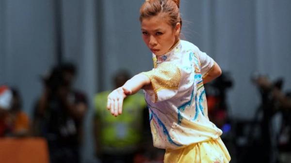 Hot girl wushu ĐH TDTT Bắc Ninh đoạt huy chương vàng tại SEA Games 29