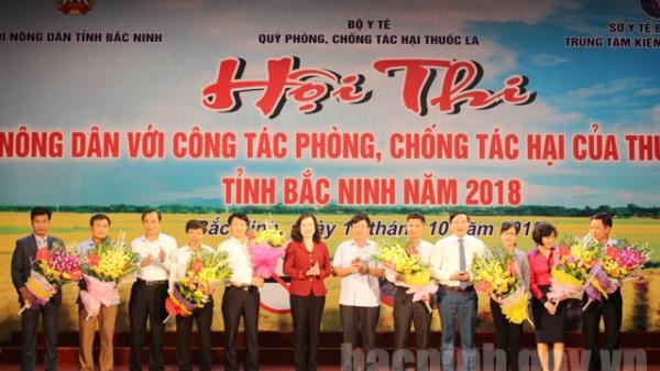 """Hội thi """"Nông dân với công tác phòng, chống tác hại của thuốc lá"""" tỉnh Bắc Ninh năm 2018"""