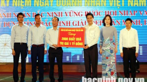 Lãnh đạo tỉnh Bắc Ninh dự gặp mặt kỷ niệm ngày Doanh nhân Việt Nam