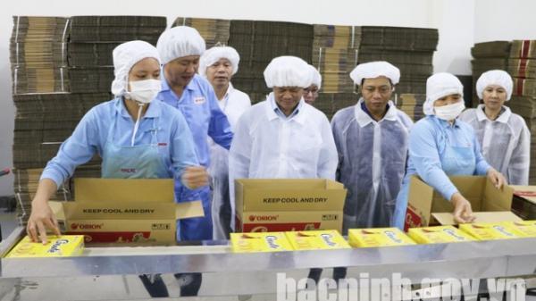Chủ tịch UBND tỉnh thăm, làm việc với các doanh nghiệp FDI hoạt động trên địa bàn tỉnh