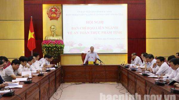 Bắc Ninh: Hội nghị Ban chỉ đạo liên ngành về an toàn thực phẩm tỉnh