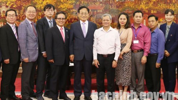 Đoàn đại biểu huyện Bonghwa (Hàn Quốc) thăm và làm việc tại tỉnh Bắc Ninh