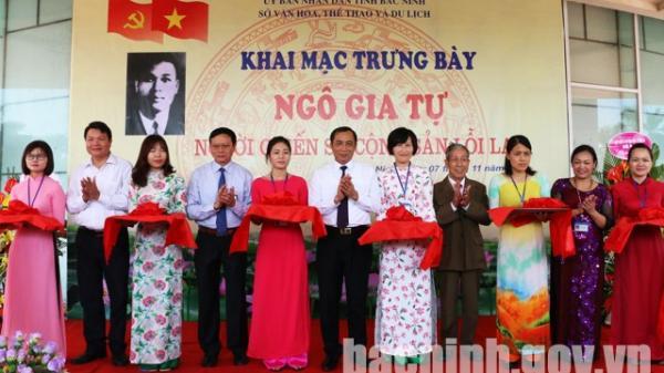 """Bắc Ninh: Khai mạc trưng bày chuyên đề """"Ngô Gia Tự - Người chiến sỹ Cộng sản lỗi lạc"""""""