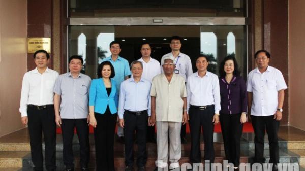 Nguyên Chủ tịch Ủy ban TƯ MTTQ Việt Nam thăm, làm việc tại Bắc Ninh