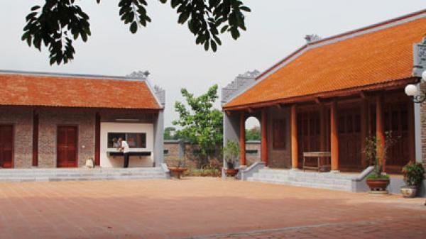Đầu tư gần 8,6 tỷ đồng phục dựng nhà chứa Quan họ tại Thị Cầu, thành phố Bắc Ninh
