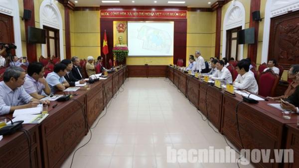 Lấy ý kiến đóng góp vào Đồ án Quy hoạch Khu đô thị, du lịch văn hóa và dịch vụ tổng hợp huyện Yên Phong
