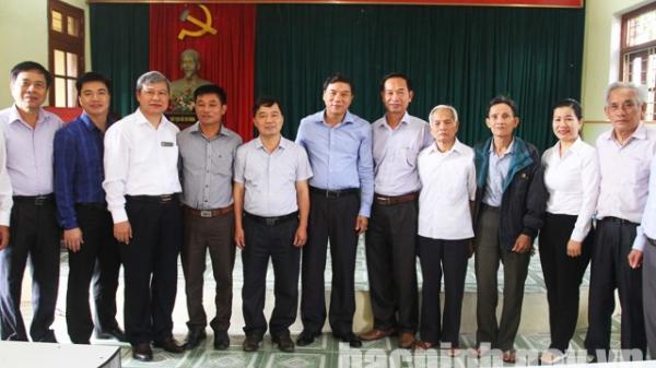 Thường trực Tỉnh ủy dự sinh hoạt Chi bộ tại các địa phương