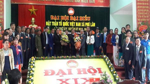 Đại hội điểm Ủy ban MTTQ xã Phú Lâm huyện Tiên Du
