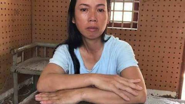 Hung thủ giết hại nữ cán bộ HTX bật khóc khi nhắc đến con