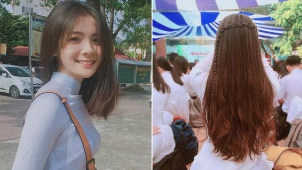 Chẳng phải hot girl nữ sinh Bắc Ninh này vẫn khiến dân tình ngây ngất vì mặc áo dài siêu xinh!