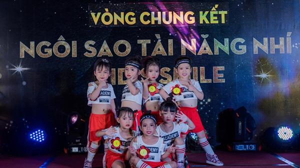 Dàn nhóc tỳ siêu đáng yêu khuấy đảo sân khấu Ngôi sao tài năng nhí Kid's Smile 2019 tại Bắc Ninh