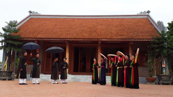 Bắc Ninh: Gìn giữ và phát huy giá trị của Nhà chứa Quan họ