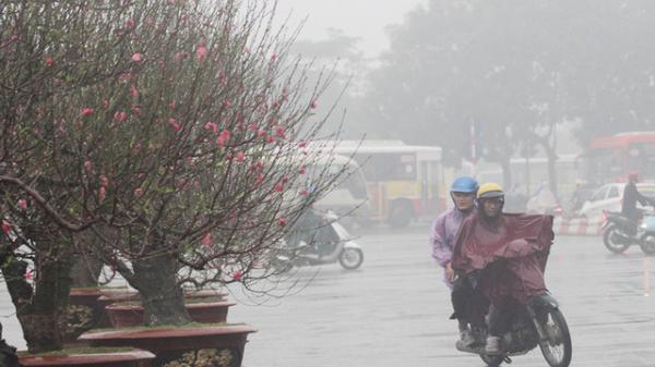 Thời tiết miền Bắc ngày Tết: Trời rét căm căm, thêm mưa phùn rả rích