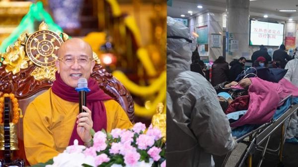 """Trụ trì chùa Ba Vàng lại gây sốc khi bày cách """"hóa giải"""" dịch cúm virus Corona?"""