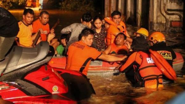 Philippines: 133 người chết, hàng chục người mất tích vì bão Tembin