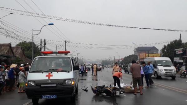 Truy tìm tài xế gây tai nạn khiến 1 người Bến Tre tử vọng tại chỗ rồi bỏ trốn