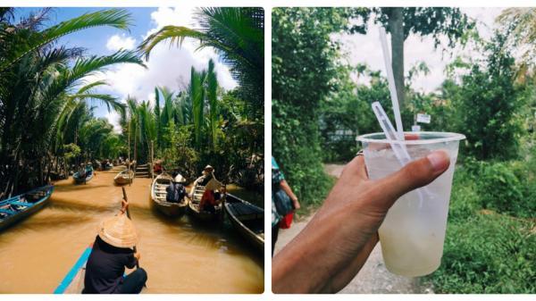 Trải nghiệm của chàng trai Hà Nội một ngày nắng gió lênh đênh sông nước Bến Tre