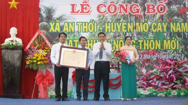 Công nhận An Thới (Bến Tre) đạt chuẩn xã nông thôn mới
