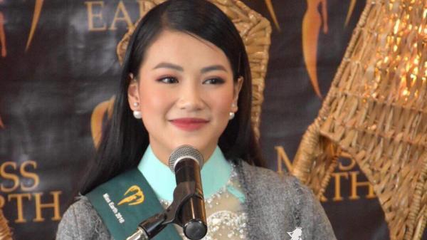 """Người đẹp Bến Tre Phương Khánh bị sốt cao vẫn gây """"choáng"""" khi trả lời phỏng vấn tại Miss Earth"""