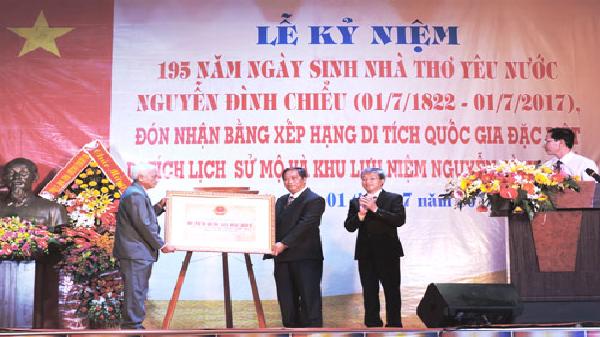 Truyền thống văn hóa gắn với sản phẩm du lịch huyện Ba Tri