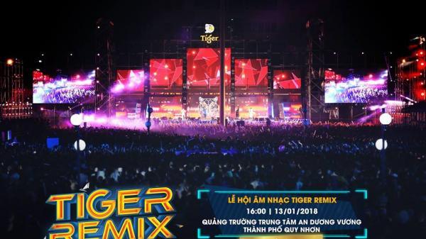 """""""Quẩy"""" xuyên đêm với đại nhạc hội Tiger Remix 2018 sắp diễn ra tại thành phố biển Quy Nhơn"""