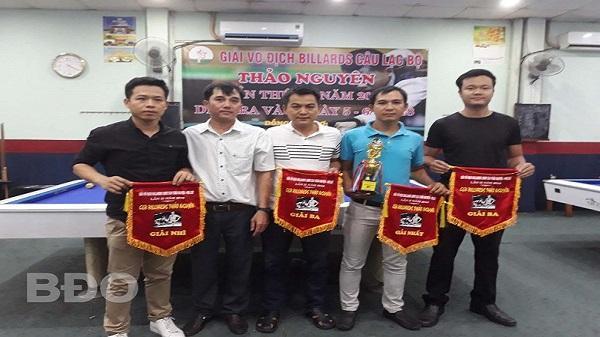 Giải billiards CLB Thảo Nguyên mở rộng năm 2018: Cơ thủ Phạm Minh Khôi (Quy Nhơn) vô địch