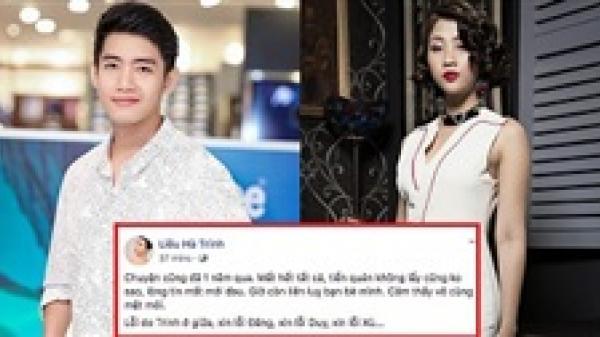 Quang Đăng tố người yêu cũ Liêu Hà Trinh lừa đảo tiền bạc khi mở nhà hàng ở Đà Nẵng, Thanh Duy - MC Minh Xù cũng là nạn nhân