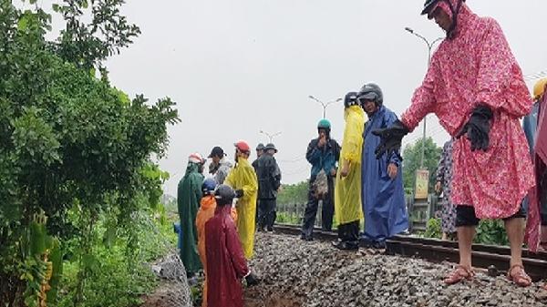 Sáng 10.12 đã thông tuyến toàn bộ đường sắt Bắc - Nam