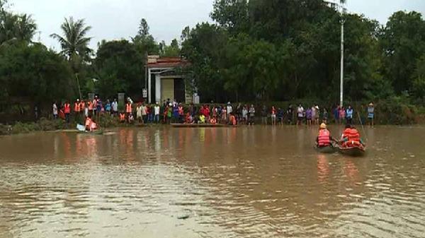 Đã có 5 người chết đuối do mưa lũ ở Bình Định