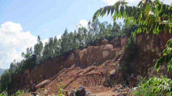 Bình Định: Khai thác đá núi Hòn Chà – Bất cập trong quản lý vì chưa cắm mốc ranh giới