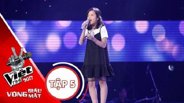 Cuộc thi giọng hát Việt nhí - 2017: Thí sinh Huỳnh Thị Ái Vy (Phù Cát) sẽ thi vòng Đối đầu