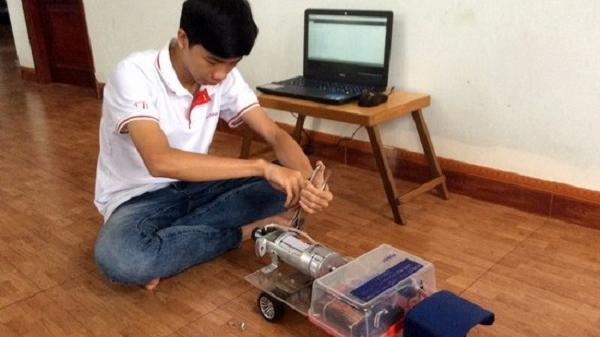 Nam sinh Bình Định say mê sáng tạo, sở hữu nhiều giải thưởng khoa học kỹ thuật