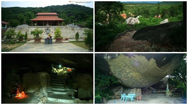 Khám phá ngôi chùa trong hang độc đáo ở Bình Định