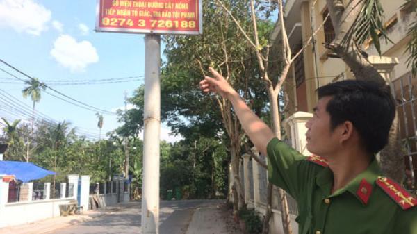 Công an xã An Sơn, TX.Thuận An: Phát hiện nhiều vụ trộm cắp trái cây