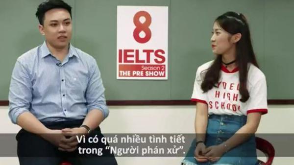 Thầy giáo 9X gây choáng với màn 'bắn' tiếng Anh như gió, lồng tiếng trực tiếp cho Phan Hải trong Người phán xử