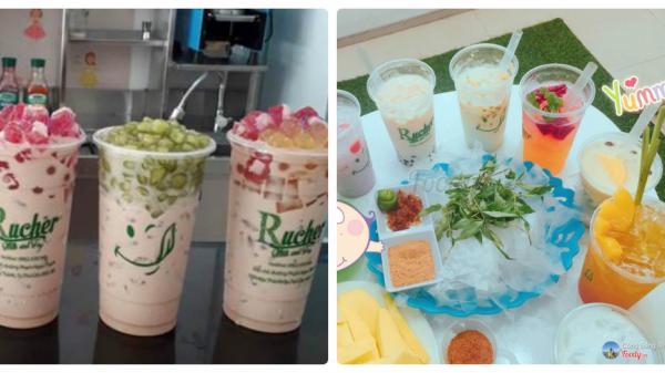 Rucher - Milk & Tea, nơi đánh thức mọi giác quan ở ngay giữa lòng Bình Dương