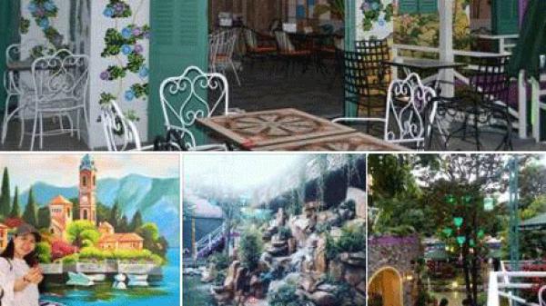 """""""Đột kích"""" quán cafe sân vườn đẹp chất ngất lại rộng đến 1500m2 ở Bình Dương: Tín đồ sống ảo tha hồ chụp nhé"""
