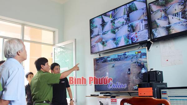 Xã hội hóa camera an ninh ở Bình Phước
