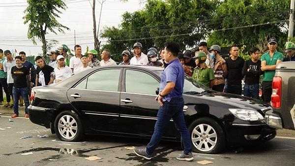 Bắt khẩn cấp giám đốc tham gia vụ chặn xe gây rối tại xã Hiệp Hòa