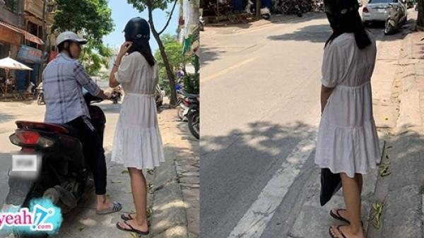 Đèo cả tiếng đồng hồ ngoài đường vẫn không nghĩ được ăn gì, cô gái bị bạn trai đuổi xuống giữa đường