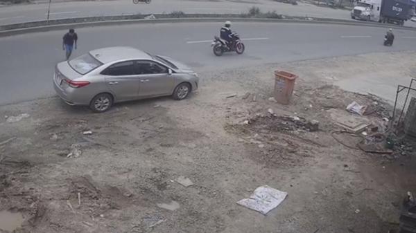 Trích xuất camera an ninh tìm kẻ trộm ô tô ở Bình Dương
