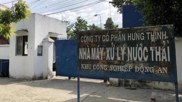Phát hiện hai nhà máy xử lý nước thải khu công nghiệpn ở Bình Dương lắp cống ngầm xả thẳng ra sông Sài Gòn