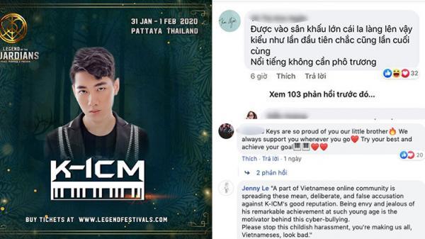 CĐM Việt tấn công fanapage lễ hội âm nhạc điện tử Thái Lan có KICM tham gia biểu diễn: 'Sao lại vạch áo cho người xem lưng?'