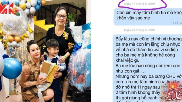 """Nhật Kim Anh tiếp tục """"tố"""" mẹ chồng ngăn cản việc gặp mặt con trai"""