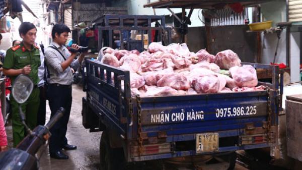 Ngăn chặn thực phẩm bẩn tuồn vào thị trường
